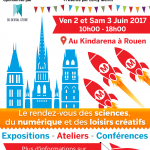 Affiche Rouen Mini Maker Faire